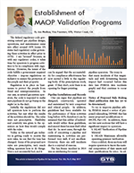 Establishment of MAOP Program