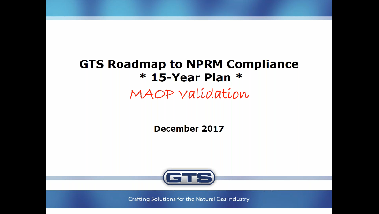 MAOP Validation Webinar