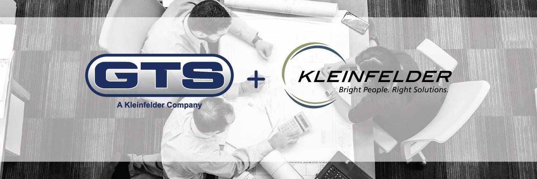 GTS and Kleinfelder company logos